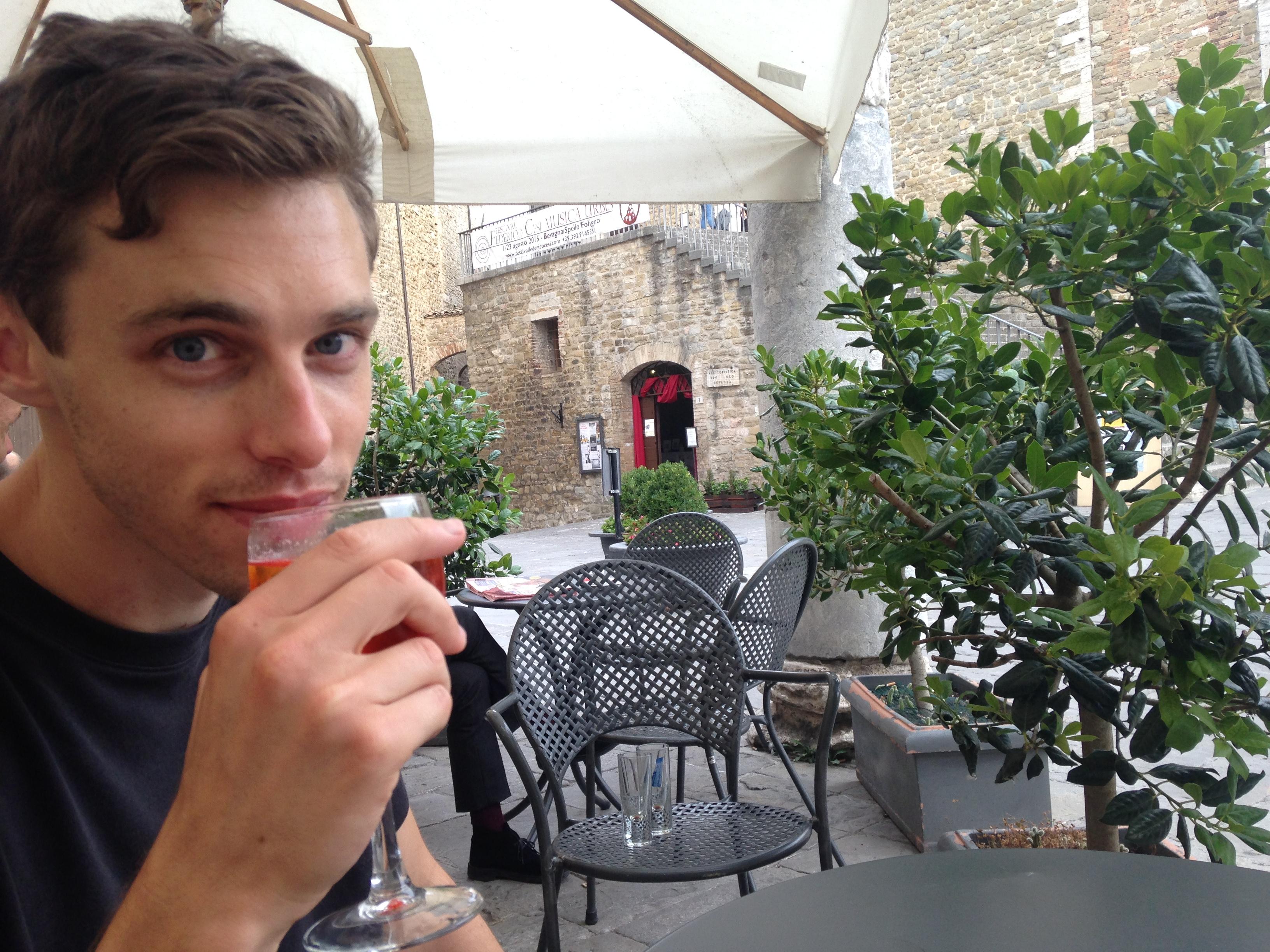Joe Pinsker Italy