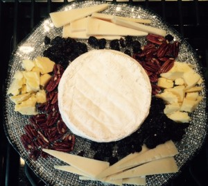 This splendid wheel of brie is an ideal leading lady.