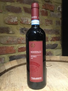 The 2012 Tabarrini Montefalco Rosso.