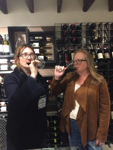 Ombretta and Via Umbria chef and wine director Vickie are expert sippers.