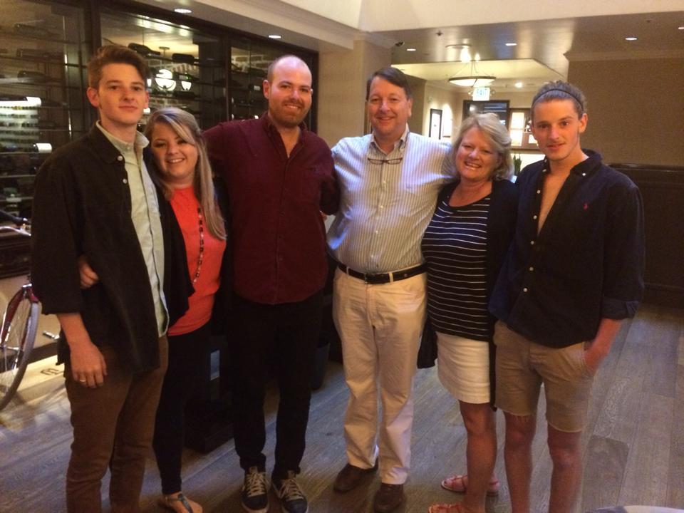Bill and Suzy Menard with their Children