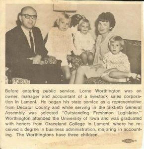 Worthingtons and Their Children