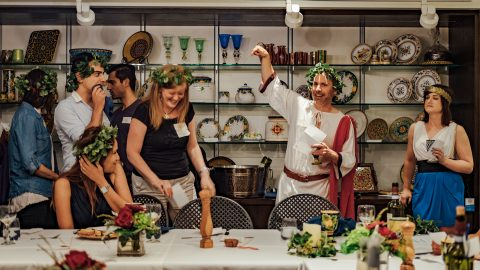 That Was Toga-lly Awesome: Murder Mystery at Via Umbria