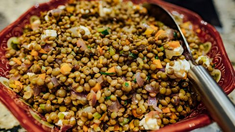 Recipe: Umbrian Lentil Salad
